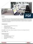 TR102 Primavera P6 15.1 Basic Course Synopsis