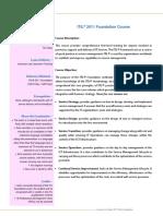 Course Factsheet_ITIL Foundation