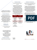 holm ally executive assistant brochure