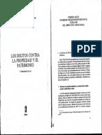 Zugaldia, Jose Miguel. Los Delitos Contra La Propiedad y El Patrimonio (Extracto)