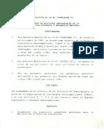 RESOLUCION 26-96