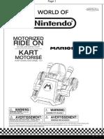 Manual Go Kart Mario