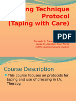 3 - Taping Technique Protocol.pptx