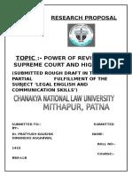 Legal English Rough Draft
