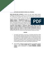 MODELO Memorial Cambio Bancasol a Banco Promerica