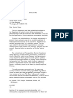 US Department of Justice Civil Rights Division - Letter - tal028