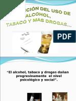 Prevencion Del Uso de Alcohol, Tabaco y Drogas