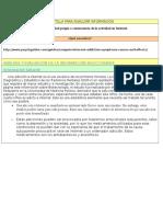 Plantilla Para Analizar Información Contenidos