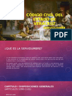 Código Civil Del Estado de Veracruz - Servidumbre