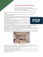Norme Di Sicurezza Nei Laboratori Di Chimica