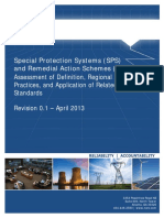 Special Protection Systems (SPS) and Remedial Action Schemes (RAS)