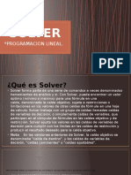 Diapositivas Solver