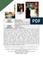 Giordano Bruno Filme