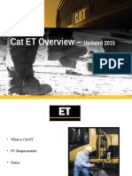 Customer Cat ET Overview - Updated 2015