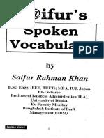 Spoken Vocabulary by Saifur Rahman Khan Allbdbooks Com
