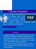 Reactor, Its Components, Types