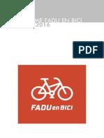 Informe Fadu en Bici Abril 2016