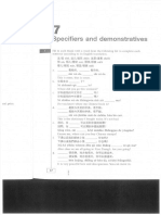 7 Specifiers and Demonstratives