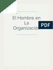 El Hombre en La Organización