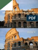 CONCEPTO Y EVOLUCIÓN HISTÓRICA DE LA OBLIGACIÓN