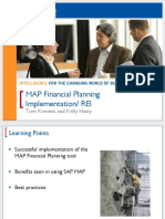 MAP Financial Planning Implementation REI