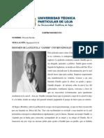 Resumen de La Pelicula Gandhi