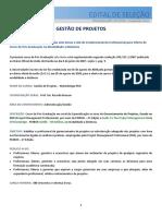 Gestão de Projetos - PMI