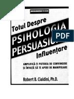Psihologia Persuasiunii - Robert Cialdini