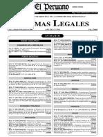 Ley 28256 Regulación Transporte Terrestre Materiales Peligrosos