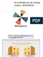 Guia inicial Wiki Space