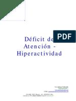 Deficit de Atencion e Hiperactividad.