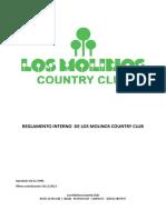 Reglamento Interno de un Country Club
