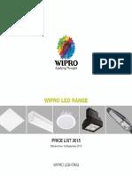 Wipro LED Range Price List 2015
