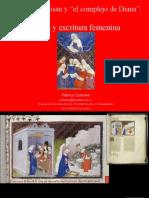 hristine de Pizan y la escritura femenina de los mitos