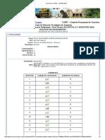 Concursos COPEC _ CETAM 2016 Resultado