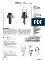 Flow Meter Sensor Signet