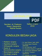 Laporan Jaga 9 April 2016.pptx