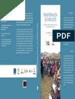 Transformación de Conflictos. Aportes al análisis y abordaje de conflictos para el desarrollo sostenible (Caratula)