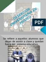 Deserción Universitaria en México Diapo