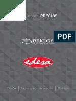 Catalogo Precios Edesa Briggs 2015