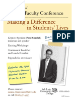 adjunct faculty conference 5-10