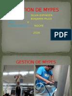 Gestion de Mypes