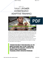 p.h.a.t. (Power Hypertrophy Adaptive Training)