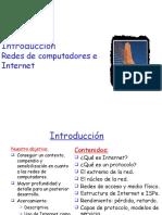 Clase 0 Introduccion -Redes de Computadoras e Internet Cap 1 Kurose
