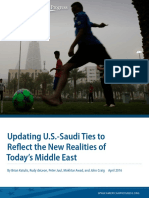 Updating U.S.-Saudi Ties to Reflect the New Realities of Today's Middle East