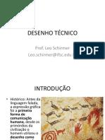 DESENHO TÉCNICO - Introdução