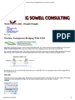 Wireless Transparent Bridging With WDS _ Greg Sowell Consulting