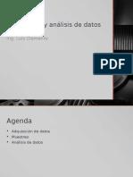 Adquisición y Análisis de simuacDatos de Entrada (1)