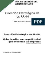 Dirección Estratégica de RRHH