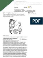 Saber, Política y Ética de La Enseñanza - Educación _ Edición Impresa _ La Capital de Rosario